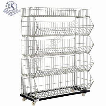 Beveled edged cage