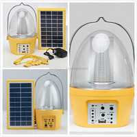 4 in 1 solar portable camping lantern rechargeable outdoor 36 LED solar camping lantern with phonce charger