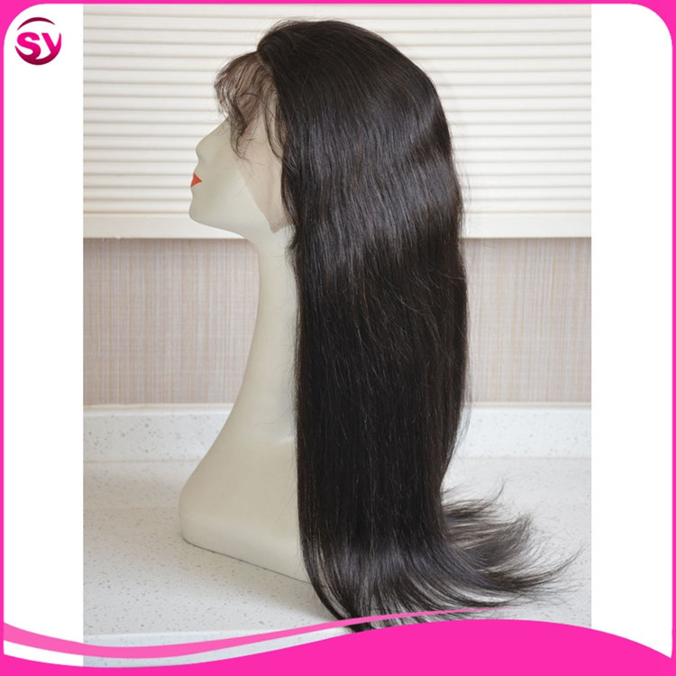 Lace Front Wig With Cheap Price,Long Lasting Micky Way Silky Straight Indian Women Hair Wig