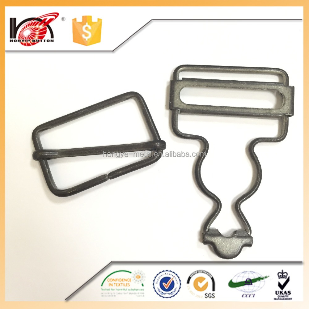 Plating Technic Custom Belt Adjustable Metal Slide Buckles For Jeans