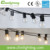 UL listed clear globe G40 E17 LED Light Bulbs,led string lighting bulb 5.5m 6w