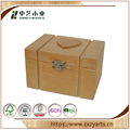 Whole sale common use handmade natural wooden collection box