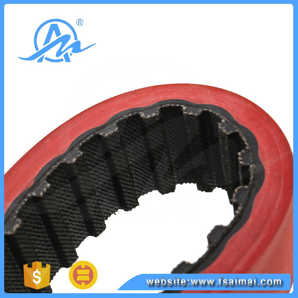 AIMAI T10 Industrial rubber flat drive timing Belt factory Direct