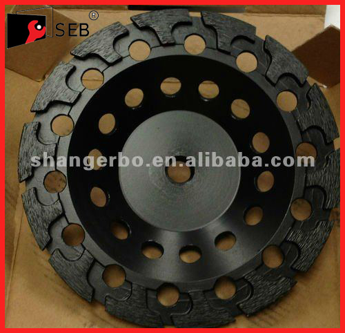 Metal bond T Segment Diamond Cup Grinding Wheel