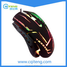 New Gaming Mouse With 7 Colors Breath LED Lights Wired New Gaming Mouse