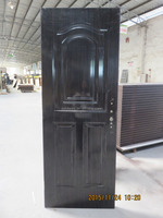 wood grain color american door for nigeria lagos
