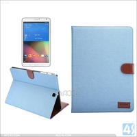 2015 Smart Flip stand pu leather case for samsung Galaxy Tab S2 9.6 t815