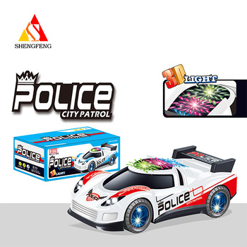 Electric car toys with police toys car with kids b/o cartoon toys