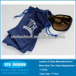 YT2006 Top Quality Custom Microfiber Sunglasses Pouch
