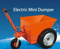 self-loading mini dumper