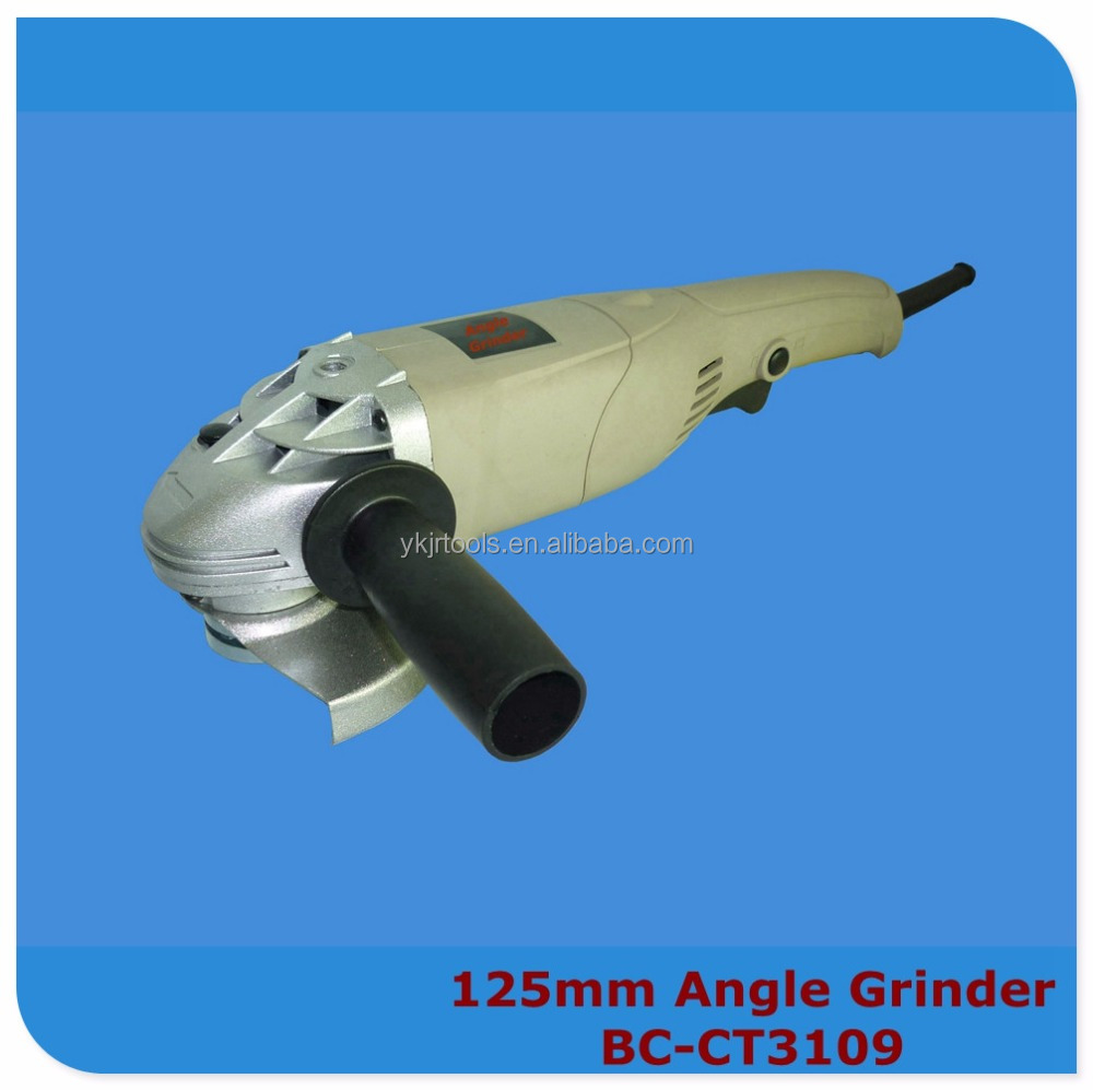 China crown electric power tools 1000W 125mm electric angle grinder