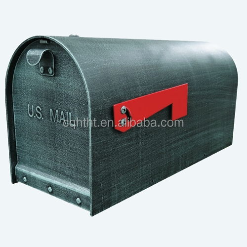 Large Capacity Galvanized Steel Green mailbox postbox for home