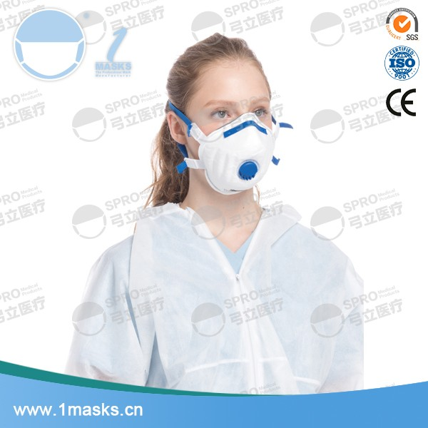 Professional supplier portable non-woven N95 air pollution mask