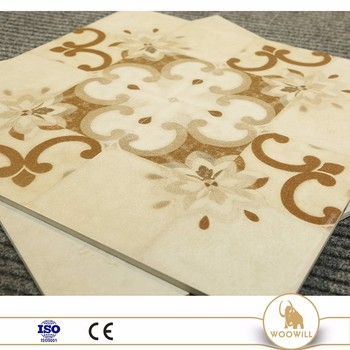 outdoor handmade encaustic cement tile , antique cement floor tile factory
