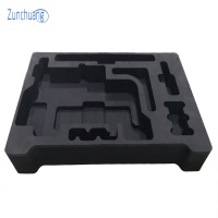 Custom foam inserts/protective packing foam/die cutting eva lining for electric products