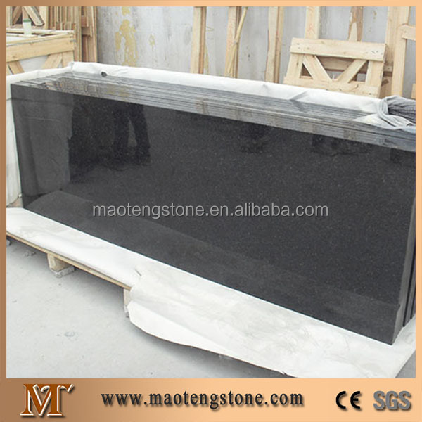 Direct Facotry Prefabricated Kitchen Black Pearl Pre Cut Granite Countertops