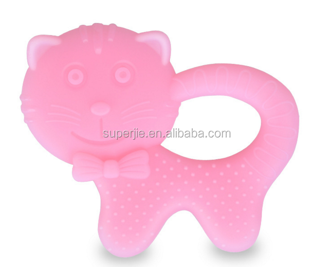 Food grade silicone beads - teething rings soft toy for baby