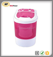 Mini laundry washer dryer with spin