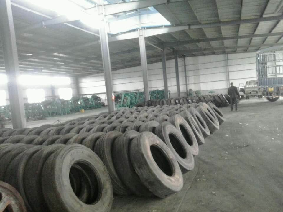 China Wholesale used Truck tyre/tire casing supplier