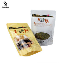 Transparent Al Sample Sterile Disposable Plastic Tobacco Pouches Packaging With Ziplock