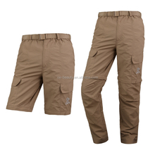 Outdoor Men's Hiking Camping Removable Pants Quick Dry Fit Trousers Lightweight Cycling Climbing Sports Long Pants