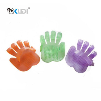 Colorful pet grooming mitts RB010