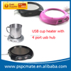 4 Port Usb Hub Mug Heater
