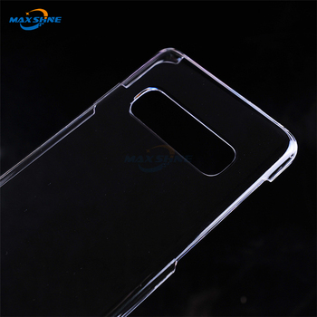 Maxshine Transparent Hard Pc Material Phone Case Cover For Samsung Galaxy S10E S10 Plus Shockproof Case