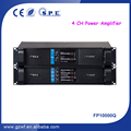 4 Channel 1300W Professional Power Amplifier FP10000Q