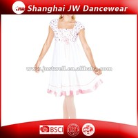 White Dance Dress for Girl