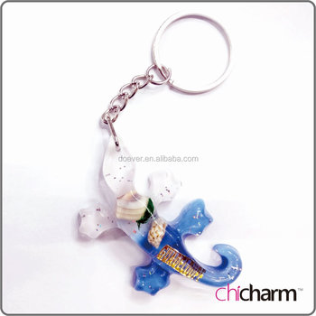 Lizard Key Chain Gecko Salamander Key Ring CheapTourism Souvenirs