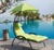 Outdoor Durable Steel Stand Hanging Lounge Chair Hammock Swing Bed