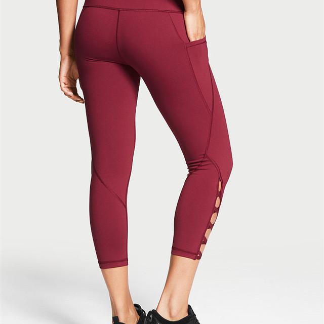 Custom tights nylon spandex gym tights for women custom gym tights
