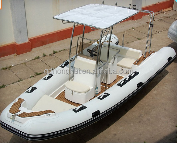 CE approved 5.8m 9 persons rigid inflatable <strong>boat</strong> cheap fiberglass RIB <strong>boat</strong>