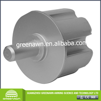 80mm Round Or square Awning End Plug,aluminum cap for tube,,Awning Parts