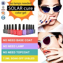 51263X Sunlight One Step Gel Polish CANNI Nail Art Design Wholesale 29 Colors No-need UV Lamp Healthy Organic 3 in 1 Gel Polish