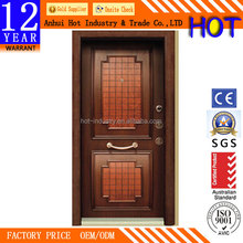 High Quality Armored Security Steel Door Small Square Pattern Security Scanner Door Factory Direct