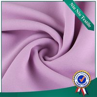 China supplier High quality Shiny Woven crepe fabric satin