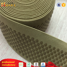 Rubber spandex silicone grip elastic webbing band tape