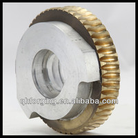 Forging parts helical gear/composite material cooper brass warm gear