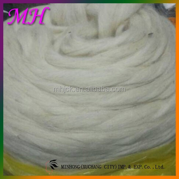 Raw Material 100% Pure Dehaired Sheep Wool for Knitting and Yarn/Cashmere Fabric Raw Sheep Wool for Sale