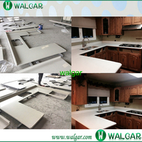 Best price white quartz engineered stone countertops price With High Quality