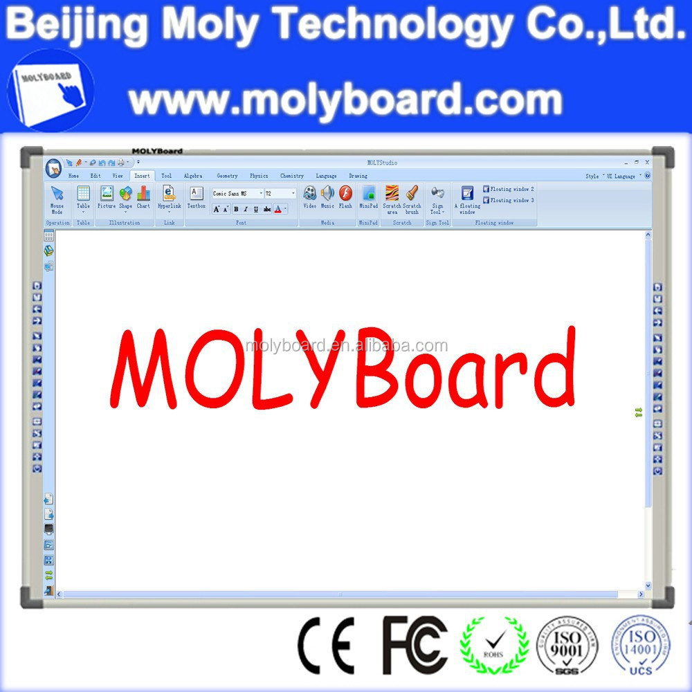 Strong lcd interactive touch screen smart board tv