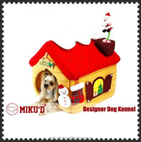 Christmas New Products Best Quality Luxury Christmas Pet Dog House, Pet Dog Bed