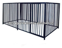 Metal tube or wrought iron outdoor dog kennel/house/cage/panel/gate(China factory)