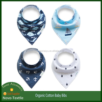 4 Pack Unisex Organic Triangle Baby