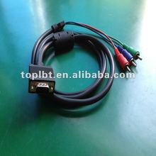 High quality VGA to RCA Splitter Converter Cable