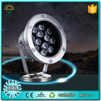 18w high power DMX RGB colorful swimming pool light 12v led underwater light for swimming pool