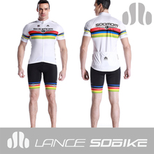 2014 soomom lance sobike factory wholesales green red black yellow ropa ciclista italy germany national cycling jersey