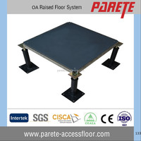 Office usage oa bare finish steel raised floor solution